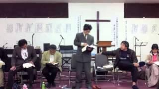 イスラエル小須田牧師、歴代誌第二20章から.