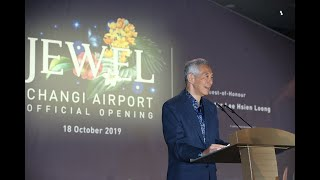 Official Opening of Jewel Changi Airport