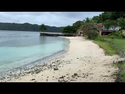 Walking around Koror In Palau