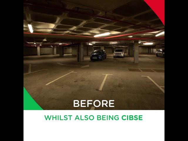 Harrogate car park installed with new energy-efficient lighting