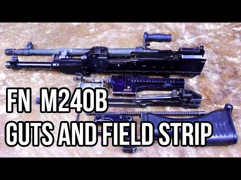 M240B Guts and Field Strip