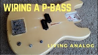 Wiring controls for a P-Bass - YouTubeYouTube