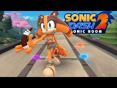 Sonic Dash 2: Sonic Boom    Sticks' Combo Charger Special Event Gameplay