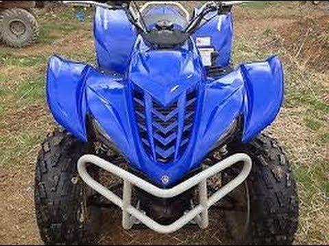 Rebuilding My Damaged 2007 Yamaha Wolverine 350 Part 2 - YouTube