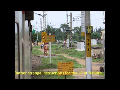 Chennai Rajdhani Express Full Journey Compilation I: Chennai-Vijayawada