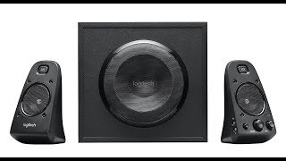 Logitech z623 2.1 speaker system review