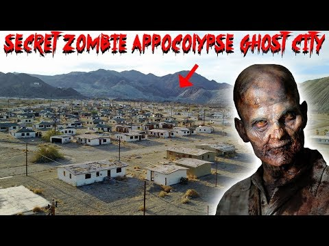 SECRET ABANDONED ZOMBIE  APOCALYPSE GHOST TOWN IN THE DESERT // *EAGLE MOUNTAIN* | MOE SARGI