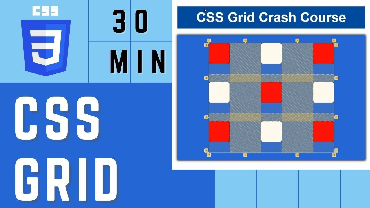 CSS Grid Crash Course | CSS Grid Tutorial | Learn CSS Grid