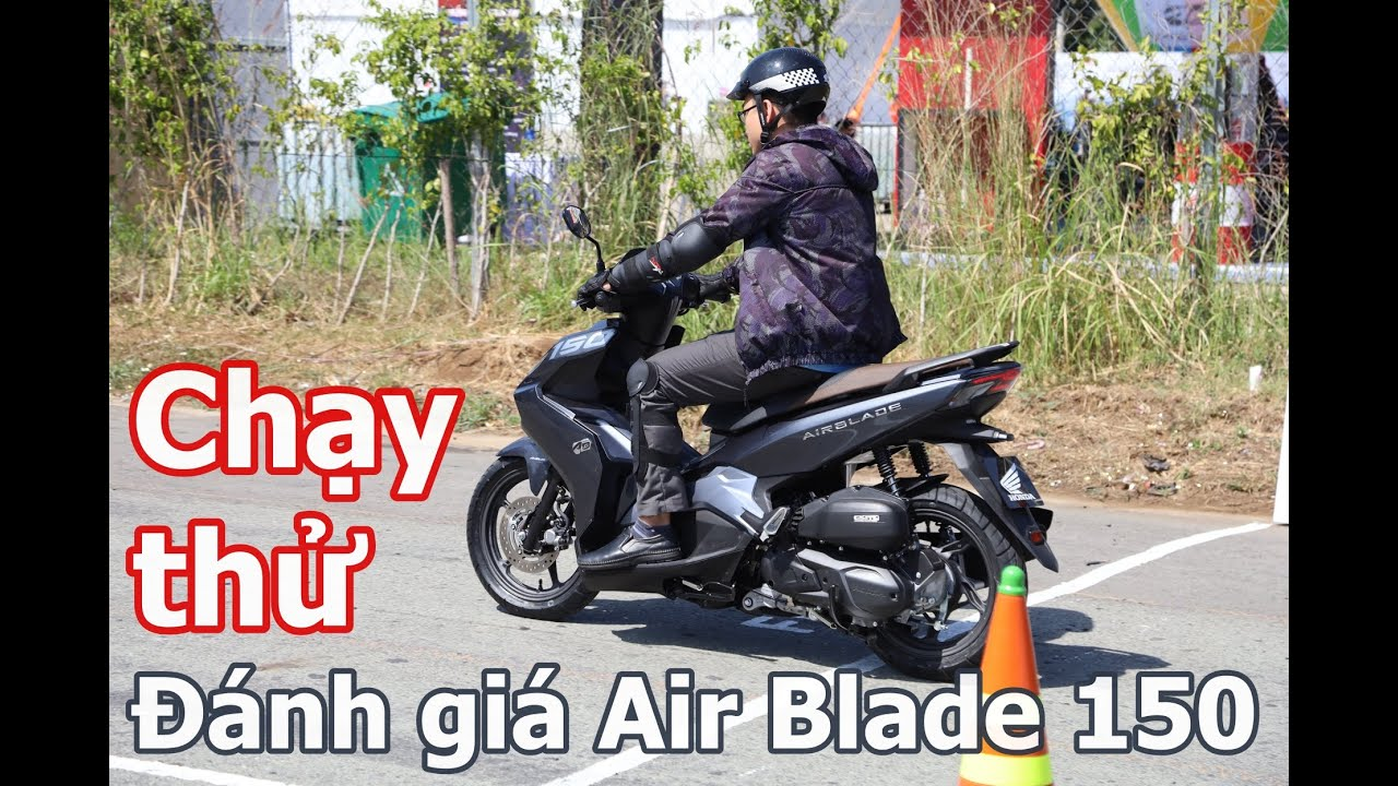 Chạy thử Air Blade 150 ABS 2020 khi vừa ra mắt | 2banh Review