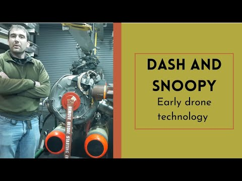 Dash and Snoopy: Early Drone Technology