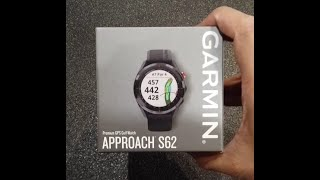 Garmin Approach S62 - unboxing, review and menu walkthrough - the ultimate golf watch!