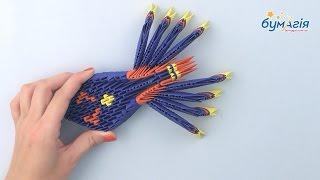 Модульное оригами • Синий паук • OM-6187