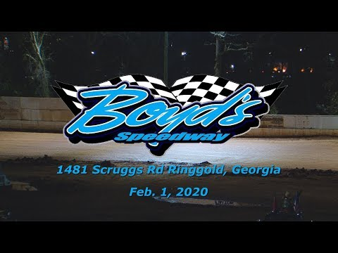 Iron Man Late Models @ Boyds Speedway Cabin Fever  Feb  1 & 2 , 2020