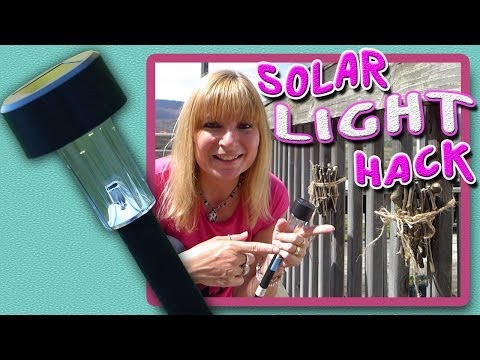 DIY Solar Light Craft
