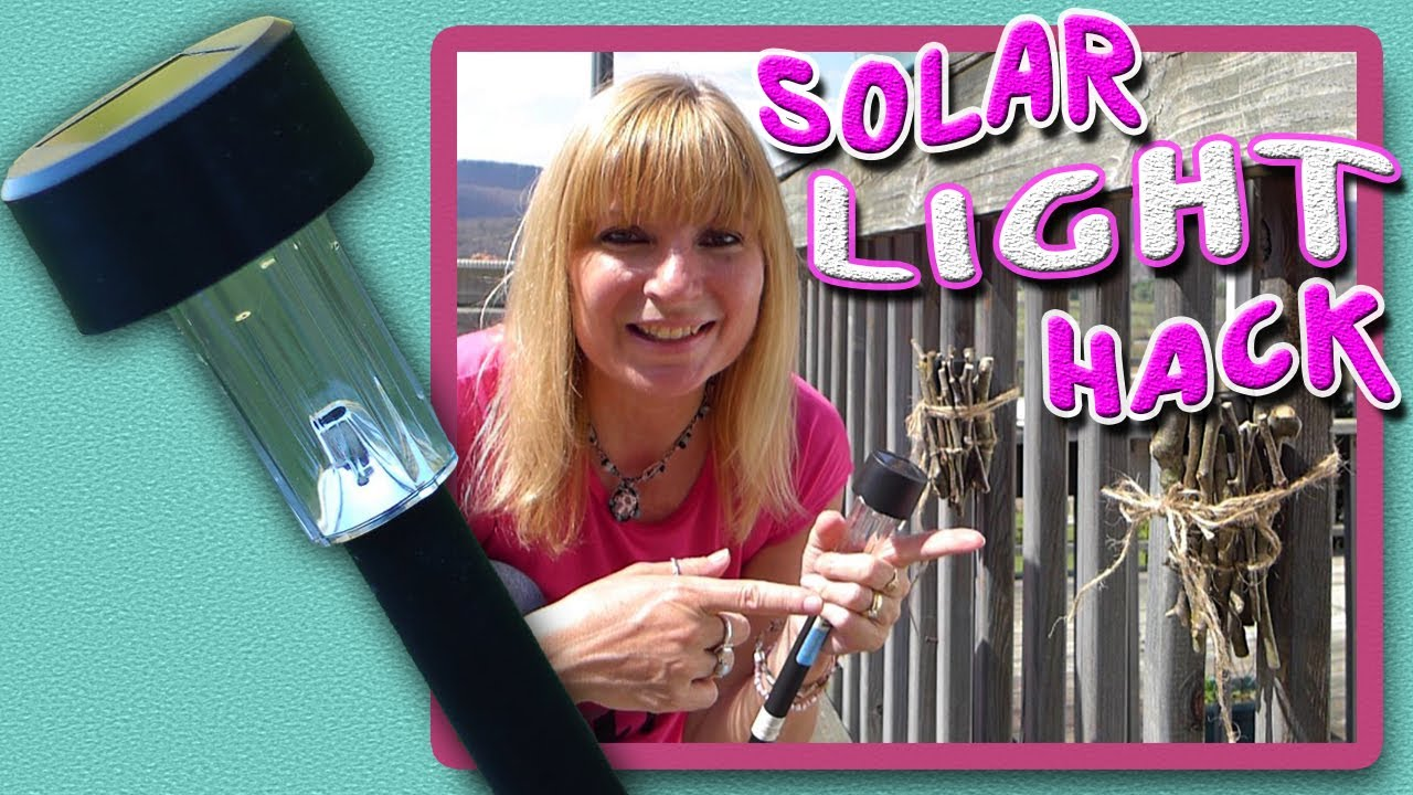 Diy Solar Light Craft Youtube