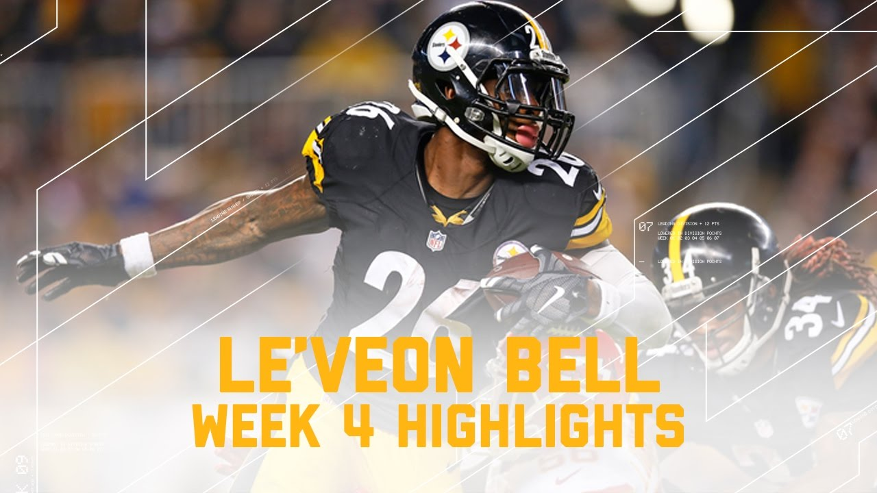 Le Veon Bell Returns Chiefs vs Steelers