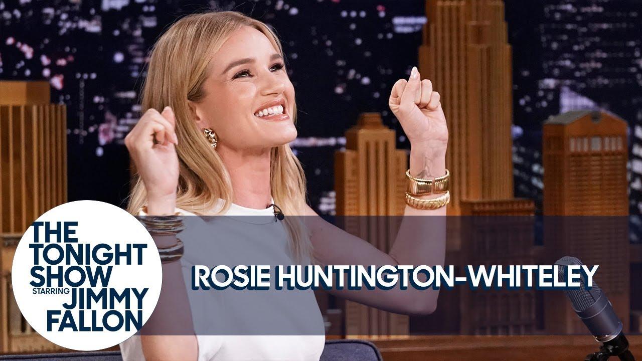 Rosie Huntington-Whiteley: 100 Versuche für ein Selfie