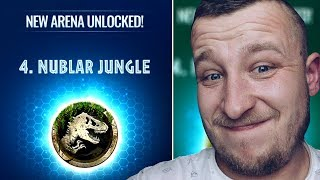 WBIJAMY 4 ARENE! NUBLAR JUNGLE! JURASSIC WORLD ALIVE POLSKA