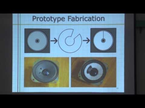 Crystalline Nanocellulose-Reinforced Paper for Speaker Design