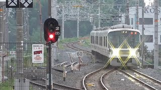 【JR奈良線高速化】1線スルー化工事が進む棚倉駅 2018年9月の状況
