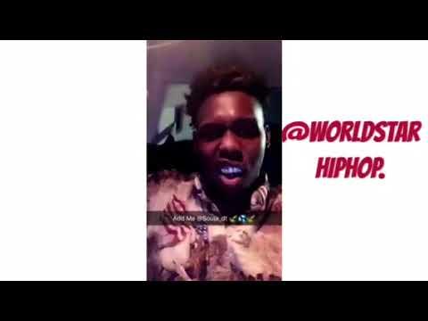 NBA YoungBoy feeling Monroe La rapper as he raps to him