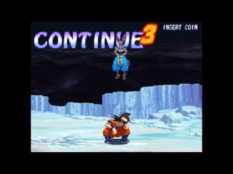 Hyper Dragon Ball Z Continue and Game Over Concept Idea