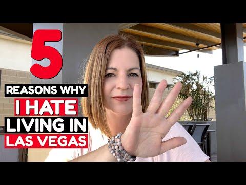 Living in Las Vegas – 5 Reasons Why I Hate Living in Las Vegas