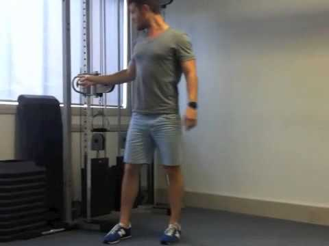 Surf Exercises, Surfing Fitness - Cable Circuit