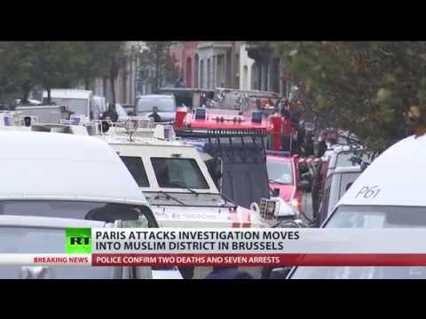 Paris attacks suspects origin traced to 'hotbed of Islamic extremism' district in Belgium