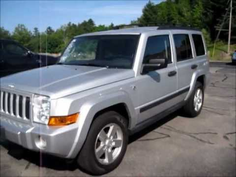 2006 Jeep Commander Start Up, Engine & Review - YouTube