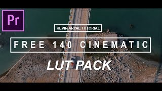 Free 140 Cinematic Lut Pack Download | adobe premiere pro