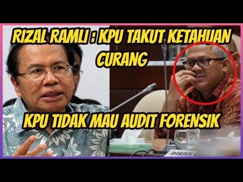 TAKUT KETAHUAN CUR4NG, KPU TIDAK MAU AUDIT FORENS1K ~ BERITA TERBARU HARI INI ~BARU 14 MEI 2019