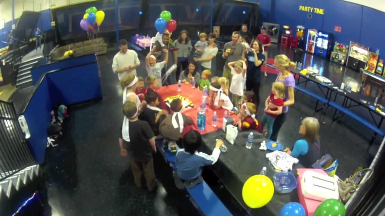 Birthday Parties In Santa Clara Sky High Sports San