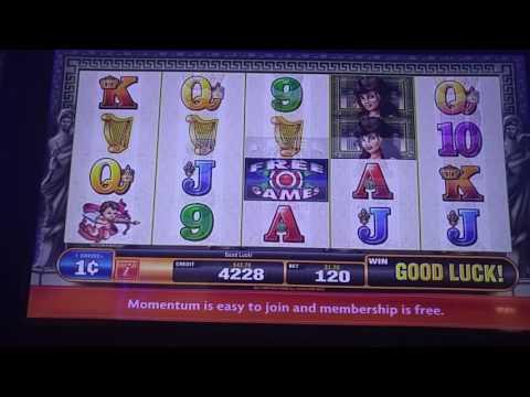 Venus slot machine at Mohegan Sun casino