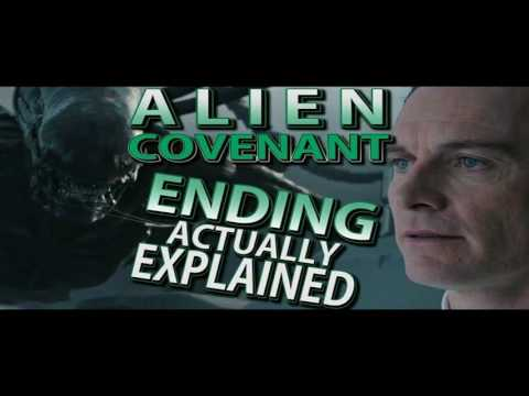 ALIEN: COVENANT - DELETED SCENE - CROSSING THE PLAZA BREAKDOWN