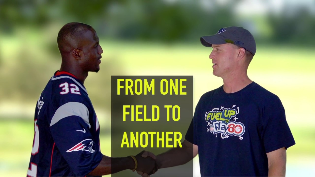 NFL Player Devin McCourty Visits a Dairy Farm