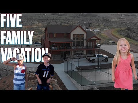 �� 10 ADULTS AND 17 KIDS UNDER ONE ROOF �� 5 FAMILIES ON ONE VACATION