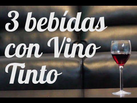 3 bebidas con VINO TINTO! - YouTube