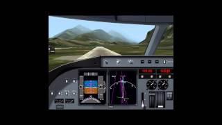X-Plane 9 iPad - A320 Visual Final Innsbruck