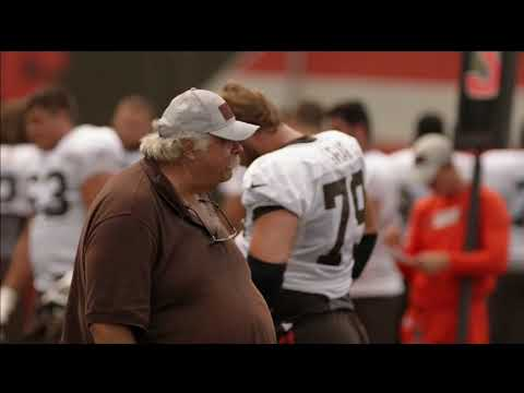 Hard Knocks: Bob Wylie (Browns Offensive Line Coach)