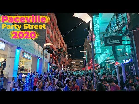Paceville Party Street walking tour ALL NIGHTCLUBS: Malta Nightlife 2020