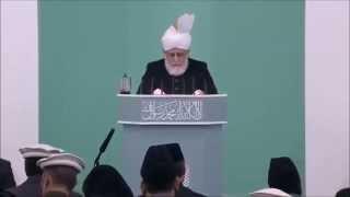 Parcours des convertis à l'Islam Ahmadiyya - sermon du 03-04-2015