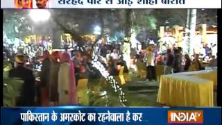 Indo-Pak Royal Wedding: Wedding of Pakistani Boy and Indian Girl in Jaipur - India TV