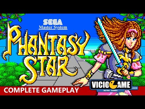 🎮 Phantasy Star (Master System) Complete Gameplay