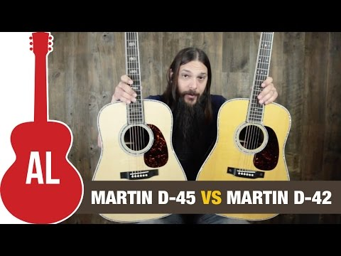Martin D-45 vs D-42 Guitar Shootout!