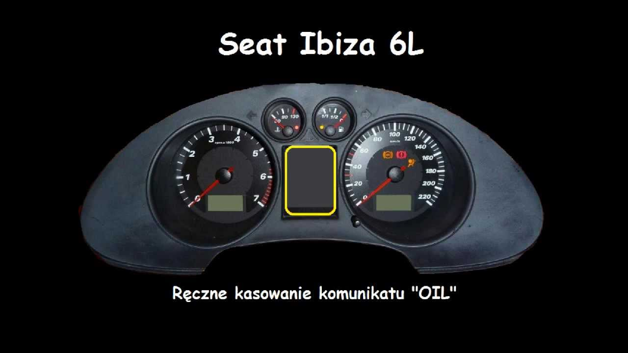 seat ibiza l6 oil indicator reset service light manual inspection rh youtube com seat ibiza 2003 service manual seat ibiza 2003 manual pdf