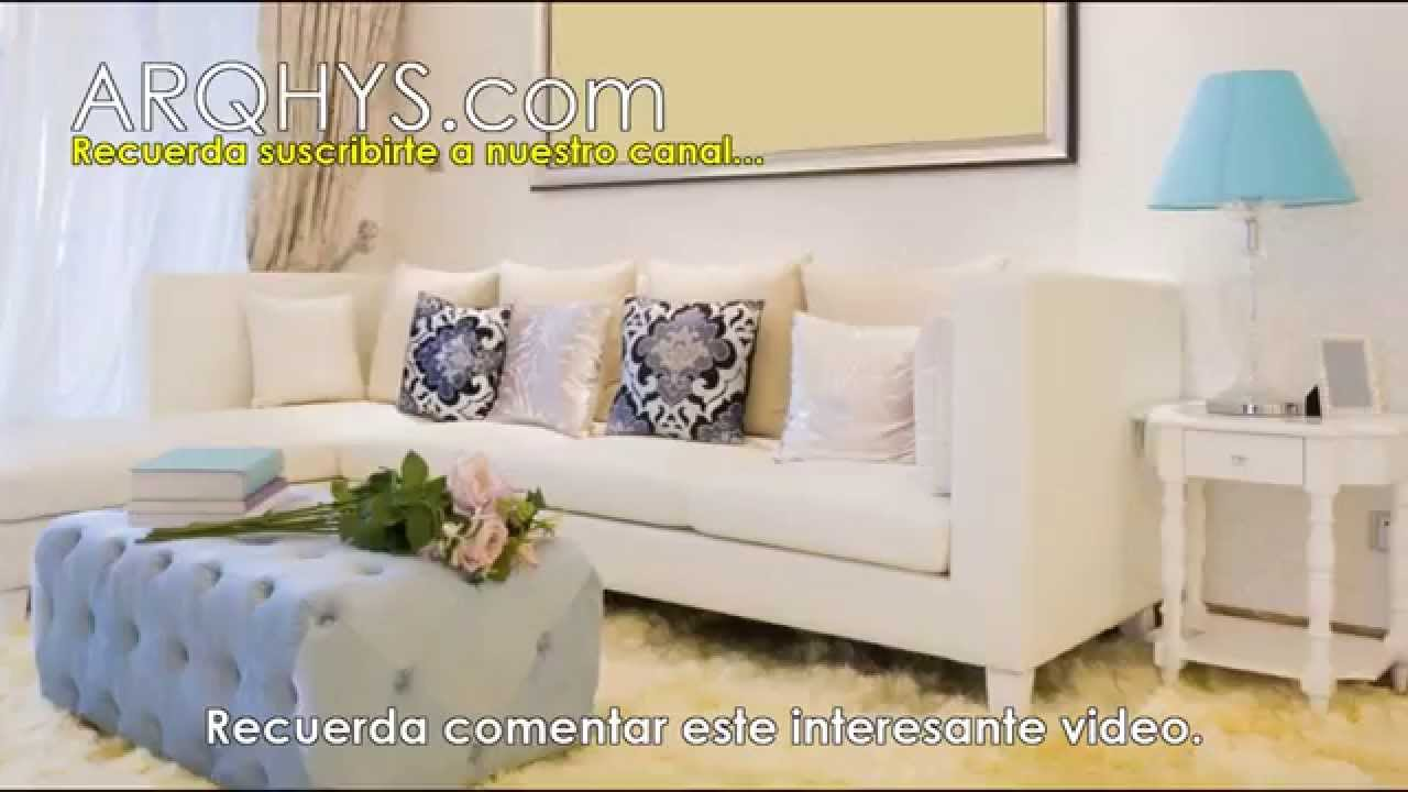 Decorar un departamento peque o con poco dinero uso de Ideas para decorar living departamento