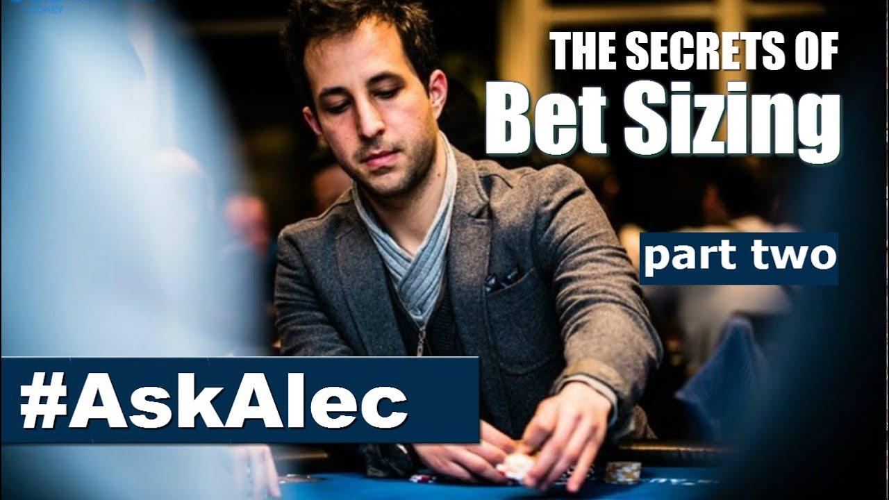 Poker Betting Strategies