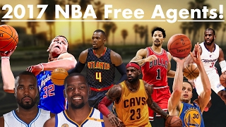 2017 nba free agents