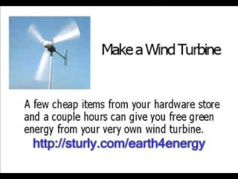 Residential Wind Turbines DIY Home Power Generator